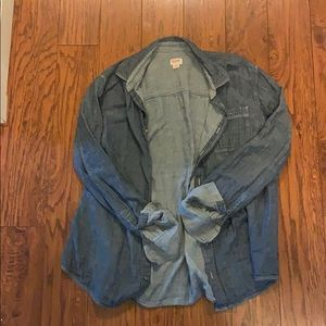 Chambray button up size XL